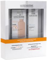 Набор косметики для лица La Roche-Posay La Roche-Posay Сыворотка Vitamin C10+Крем для век Redermic C (30мл+15мл) -