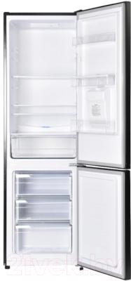 Холодильник с морозильником Maunfeld MFF 176SFSB