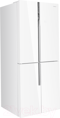 Холодильник с морозильником Maunfeld MFF 182NFW