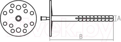 Дюбель для теплоизоляции Starfix SMW1-61158-200
