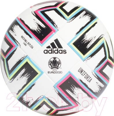 Футбольный мяч Adidas Uniforia / FH7339 футбольный мяч adidas conext 19 omb dn8633