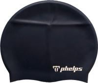 Шапочка для плавания Phelps Classic Silicone SA131EU0404 (темно-синий) -