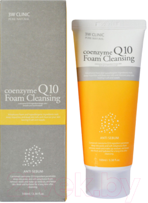 Пенка для умывания 3W Clinic Coenzyme Q10 Foam Cleansing (100мл)