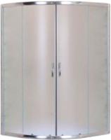 Душевой уголок Aquanet Полукруглый 90x90 / SE-900Q-Short (узорчатое стекло) -