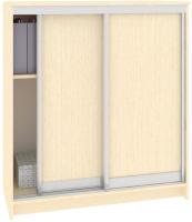 Шкаф для обуви Кортекс-мебель Сенатор ШК42 Классика ДСП (венге светлый) -