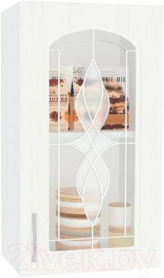Шкаф навесной для кухни Кортекс-мебель Корнелия Ретро ВШ40ст