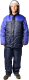 Комплект рабочей одежды ТД Артекс Балтика утепленный (р-р 60-62/182-188, Оксфорд, синий/василек) -