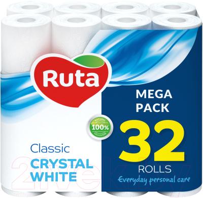 Туалетная бумага Ruta Classic (белая, 32рул)