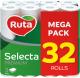 Туалетная бумага Ruta Selecta (белая, 32рул) -