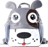 Детский рюкзак Galanteya 5218 / 8с3240к45 (светло-серый/белый) -