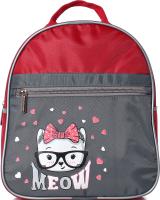 Детский рюкзак Galanteya 49218 / 9с860к45 (красный/серый) -