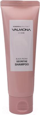 Шампунь для волос Evas Valmona Powerful Solution Black Peony Seoritae Shampoo (100мл)