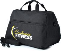 Спортивная сумка Galanteya 1718 / 9с82к45 (черный) -