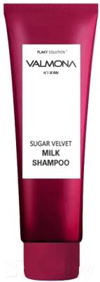Шампунь для волос Evas Valmona Sugar Velvet Milk Shampoo ягоды (100мл)
