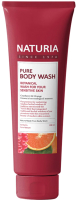 Гель для душа Evas Naturia Pure Body Wash Cranberry & Orange (100мл) -