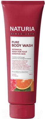 Гель для душа Evas Naturia Pure Body Wash Cranberry & Orange (100мл)
