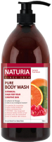 Гель для душа Evas Naturia Pure Body Wash Cranberry & Orange (750мл) -
