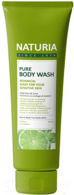 Гель для душа Evas Naturia Pure Body Wash Wild Mint & Lime (100мл)