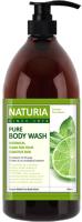 Гель для душа Evas Naturia Pure Body Wash Wild Mint & Lime (750мл) -