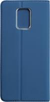 Чехол-книжка Volare Rosso Book для Redmi Note 9 Pro/Note 9 Pro Max/Note 9S (синий) -