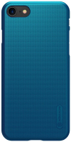 Чехол-накладка Nillkin Super Frosted Shield для iPhone 8/iPhone SE 2020 (синий) -