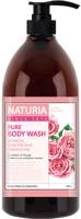 Гель для душа Evas Naturia Pure Body Wash Rose & Rosemary (750мл) -