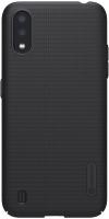 Чехол-накладка Nillkin Super Frosted Shield для Galaxy A01 (черный) -