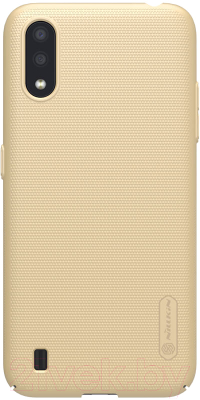 Чехол-накладка Nillkin Super Frosted Shield для Galaxy A01 накладка nillkin frosted shield для blackberry passport red