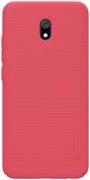 Чехол-накладка Nillkin Super Frosted Shield для Redmi 8А (красный) -