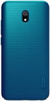 Чехол-накладка Nillkin Super Frosted Shield для Redmi 8А (синий) -
