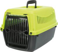 Переноска для животных Trixie Capri XS 39803 (антрацит/салатовый) -