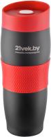 Термокружка 21vek 1186/7 (черный/красный) -