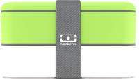 Набор ланч-боксов Monbento MB Original / 1200 02 105 (зеленый/белый) -