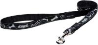Поводок Rogz Armed Response Lijn XL Black Bone 25мм / RHLL02CB -