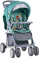 Детская прогулочная коляска Lorelli Foxy Green Happy Animals (10020521808A) -