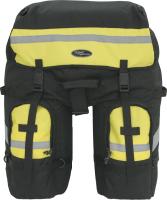 Сумка велосипедная Турлан Мустанг-50 (черный/желтый) -