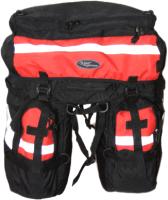 Сумка велосипедная Турлан Мустанг-90 (черный/красный) -