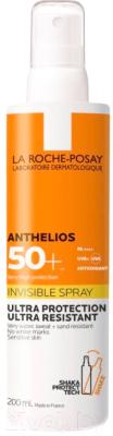 Спрей солнцезащитный La Roche-Posay Anthelios SPF 50+ (200мл)
