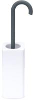 Ершик для унитаза Lineabeta 5021.17 (белый/матовый антрацит) -