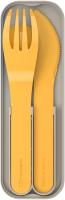Набор столовых приборов для ланча Monbento MB Pocket / 1007 02 021 (горчичный) -