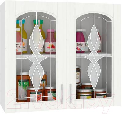 Шкаф навесной для кухни Кортекс-мебель Корнелия Ретро ВШ80ст