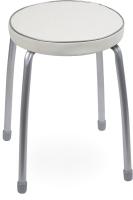 Табурет Ника Фабрик 2 / ТФ02 (светло-серый) -