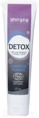 Крем для умывания Levrana Detox Ecocert (100мл)