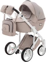 Детская универсальная коляска Adamex Luciano 2 в 1 (Q387) -