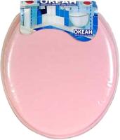 Сиденье для унитаза Europlast Океан 103-312-03 (мягкое, розовый) -
