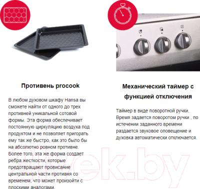 Плита электрическая Hansa FCCW58208