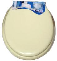 Сиденье для унитаза Europlast Океан 103-312-06 (мягкое, кремовый) -