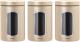 Набор емкостей для хранения Brabantia 304842 (3шт, шампань) -