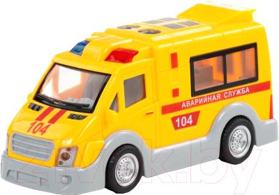 Автомобиль игрушечный Полесье Аварийная служба / 79695