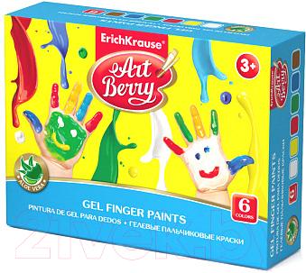 Пальчиковые краски Erich Krause Artberry / 41752 (6цв)